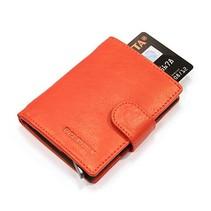 Cardprotector leer - Rood