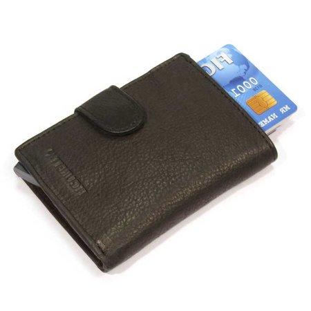 Figuretta Cardprotector leather - Black