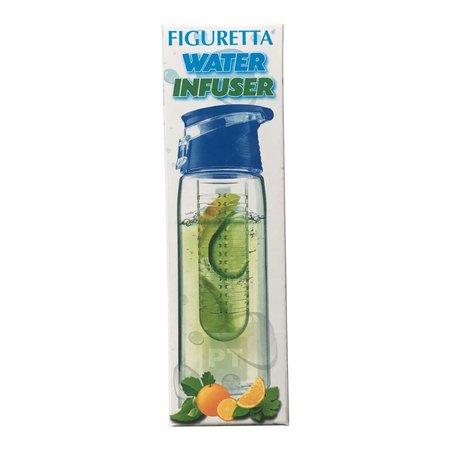 Figuretta Bouteille d'eau 700ml avec filtre à fruits