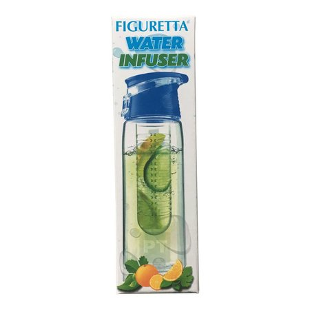 Figuretta Water bottle 700ml with fruit filter