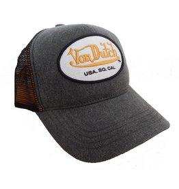 Von Dutch Trucker Cap, Grey