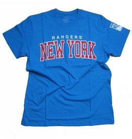 47 Brand T-Shirt New York Rangers Glacier Blue Frozen Rope