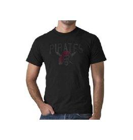 47 Brand T-Shirt Pittsburgh Pirates Jet Black