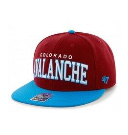 47 Brand Colorado Avalanche Blockshed Snapback