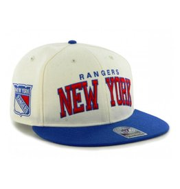 47 Brand New York Rangers Blockshed Snapback