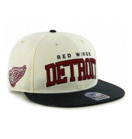 47 Brand Detroit Red Wings Blockshed Snapback