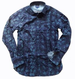 Dstrezzed Hemd mit Flower Print blue