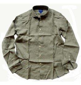 Dstrezzed Leinenhemd Army Green