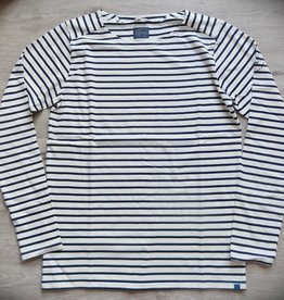 Dstrezzed Langarmshirt Offwhite/Dark Navy