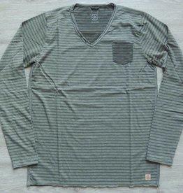 Dstrezzed Langarmshirt Army Green