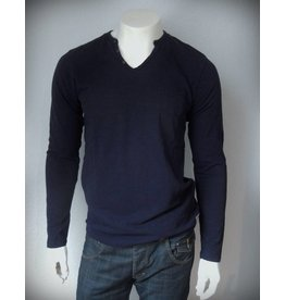 Dstrezzed Langarmshirt in Dark Navy