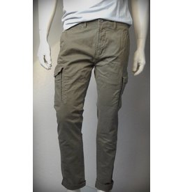 Dstrezzed Cargo Slim Pants Army Green