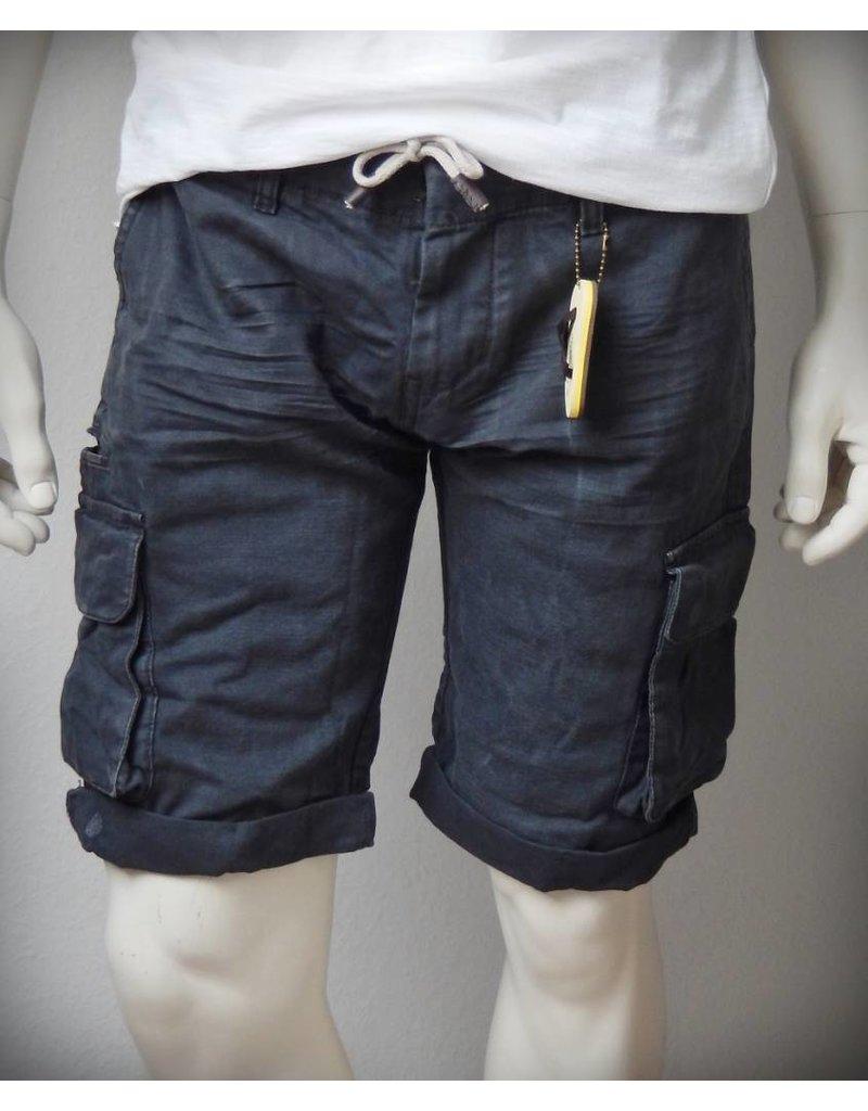 Dstrezzed Combat Shorts Double WB Pigment Canvas Anthra