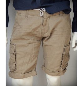 Dstrezzed Combat Shorts Double WB Pigment Canvas Khaki