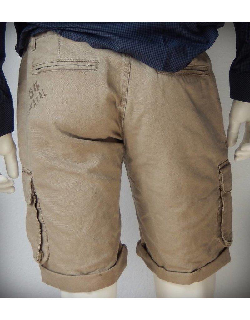Dstrezzed Combat Shorts Double WB Pigment Canvas Khaki