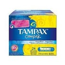 Tampax Compak Reguliere Tampons 24 st