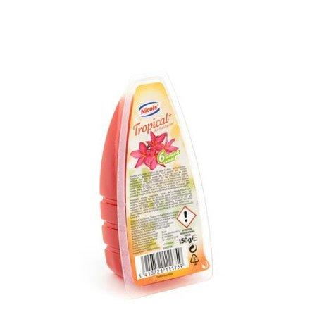 Nicols luchtverfrisser gel 150g Tropical