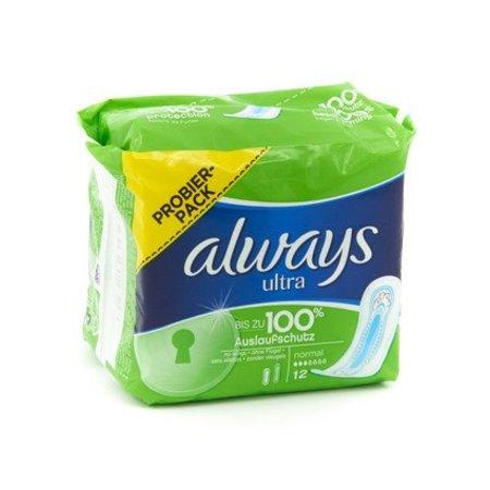 Always Ultra sanitary napkin 12st normal