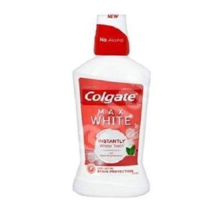 Colgate max white one mondwater
