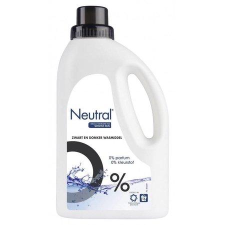 Neutralem Reinigungsmittel schwarz