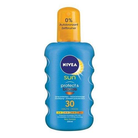 NIVEA SUN Protect & Bronze Zonnespray SPF 30 - 200 ml