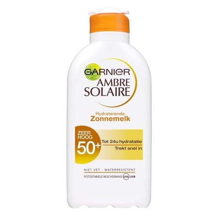 Garnier Ambre Solaire Moisturizing Sun Lotion SPF 50+ - 200ml - Sonnenschutz