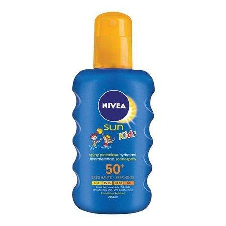 NIVEA SUN Kids Moisturizing Sun Spray LSF 50+ - 200ml