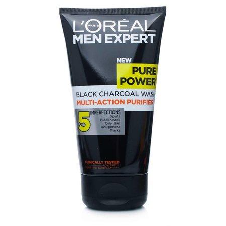 L'Oréal Men Expert Pure Power Charcoal Gezichtsreiniger - tegen puistjes - 150ml - Reinigingsgel