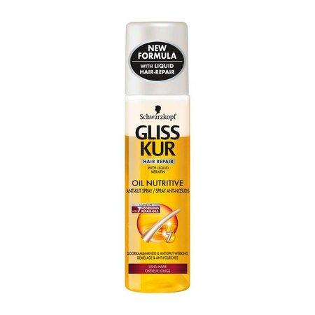 Gliss Kur A-Klit Spray Oil