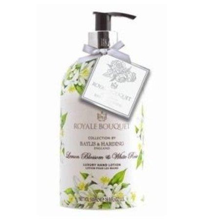 Baylis & Harding Royal Bouquet Lemon Blossom Luxury Hand Lotion