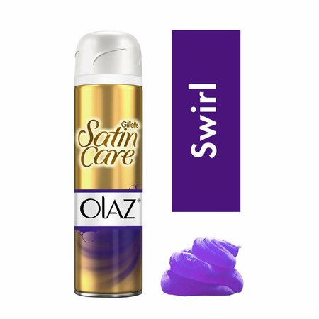 Venus Satin Care Gel Olay Violet Swirl - 200ml - Rasur