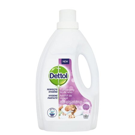 Dettol Perfecte Hygiëne Toevoeging bij de was – Lavendel – 1,5 liter