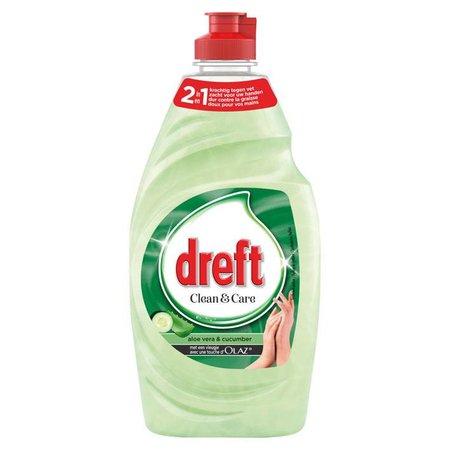 Dreft Clean & soft afwasmiddel aloe-komkommer 820ml