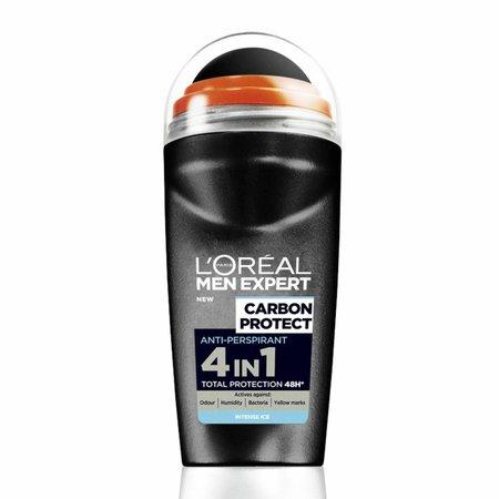 L'Oréal Men Expert Carbon Protect 4in1 - 50ml - Deodorant Roller