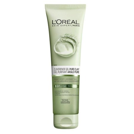 L'Oréal Paris Skin Expert Zuiverend Pure Clay Gel - 150 ml - Reinigingsgel