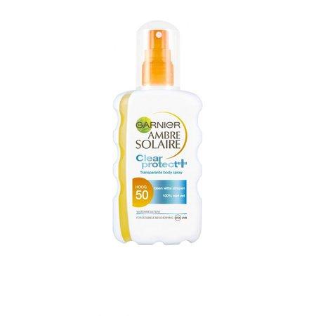 Garnier Ambre Solar Clear Protect Sun Spray SPF 50 200 ml