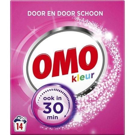 Omo Color Waspoeder - 16 wasbeurten