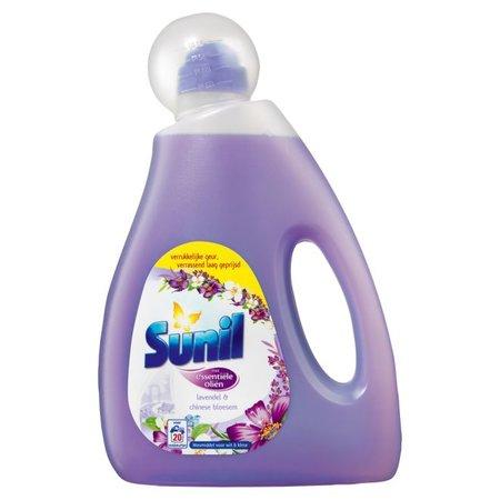 Sunil Lavendel & Chinese Bloesem Vloeibaar - 5 lt - Wasmiddel