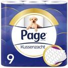 Page Seite Kissen weich - 9 Luxus Rollen - Toilettenpapier