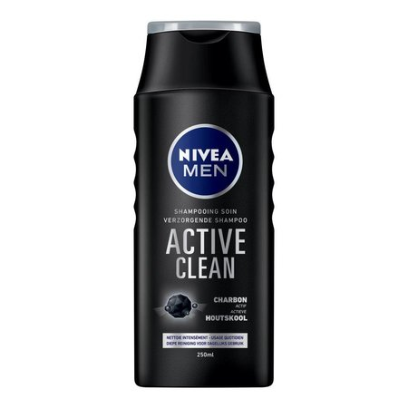 Nivea Men Shampoo Active Clean 250 ml