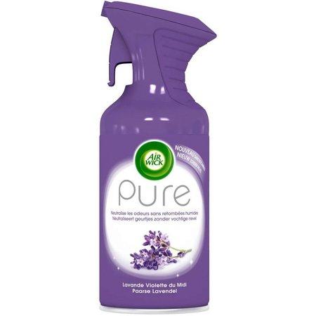 Air Wick Pure Air Freshener Spray - Purple Lavender - 250 ml
