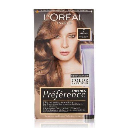 L'Oréal Préférence 7 Vienne Honig blond