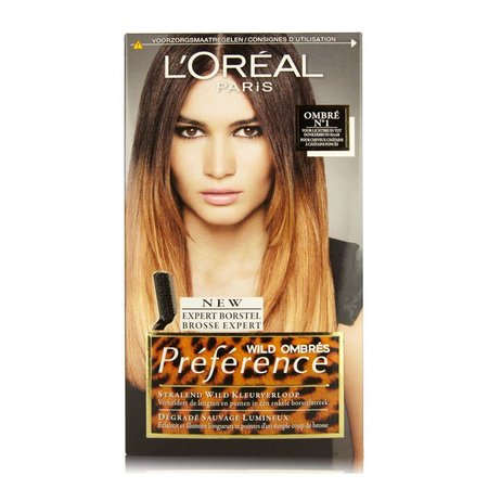L'Oréal Préférence Wilde Ombre Ombres №1 für Licht zu Dunkles Haar