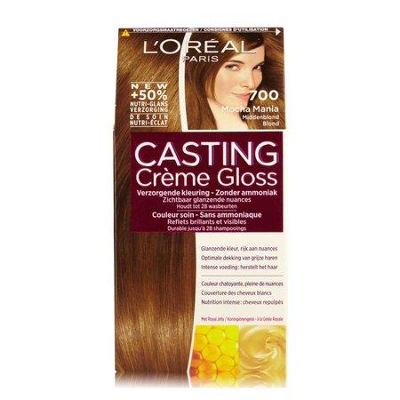 L'Oréal Casting Crème Gloss 700 Mocha Mania Middenblond