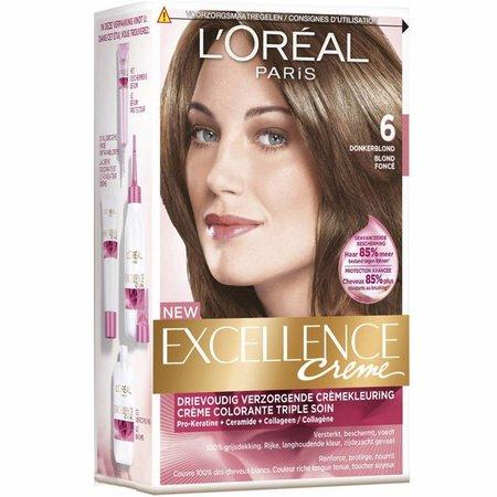 L'Oréal Paris Excellence Crème 6 - Donkerblond