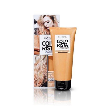 L'Oréal Colorista Washout Peach Hair Color