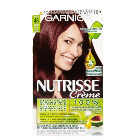 Garnier Nutrisse Creme 46 - Rotbraun