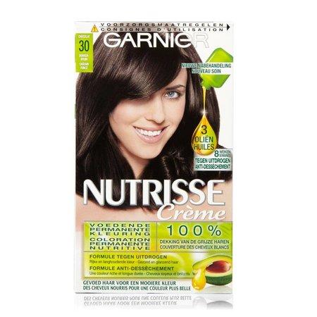 Garnier Nutrisse Crème 30 - Donkerbruin