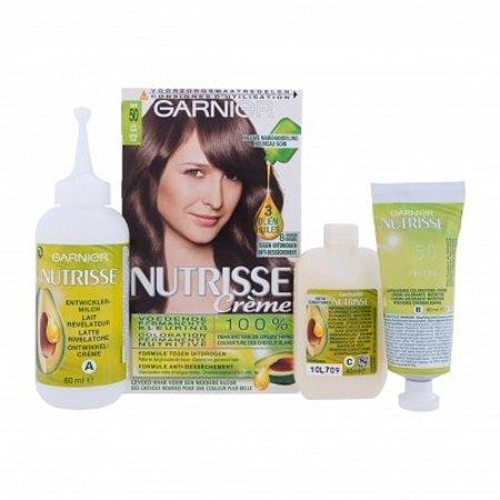 Garnier Nutrisse Crème 50 - Natuurlijk Lichtbruin