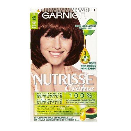 Garnier Nutrisse Cream 45 - Mahogany brown